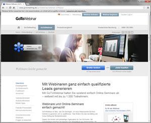 Webinar Anbieter citrix gotowebinar