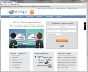 Webinar Anbieter mikogo
